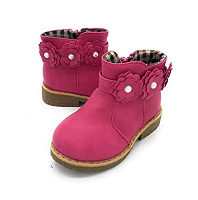 Image Unavailable. Image not available for. Color  Blue Berry EASY21 Girls  Fashion Cute Toddler Infant Winter Snow Boots ... fe08da1848f4