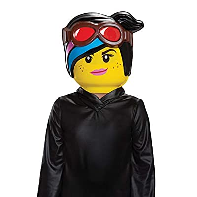 Disguise Lucy LEGO Movie 2 Half Mask: Toys & Games
