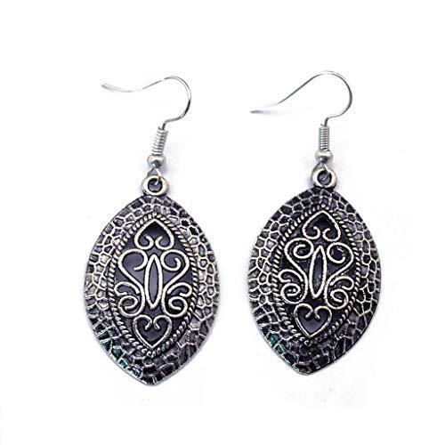 1 Pair Bohemia Ethnic Earrings Folk Festival Dangle Earring Tibetan Silver Best Good Jewerly Accessories Stylish Design Cheap Designer Novelty Pendant from Brosco