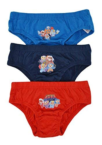 Aumsaa Boys Kids Characters 100/% Cotton Briefs Underwear Slips Pants 3 Pack