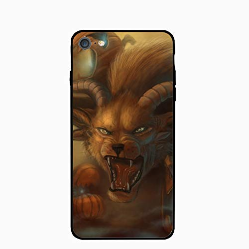 Halloween Guild Wars Floral Print PC Cellphone case for iPhone 6/6s -