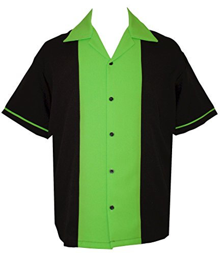 Kids Retro Bowling Shirt ~ 50's Classic 3 Colors, Youth and Child Sizes (Shirt Classic Bowling)