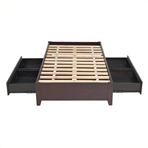 Modus Furniture Simple Platform Storage Bed
