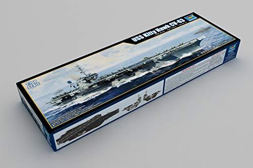 1/700 USS Kitty Hawk CV63 Aircraft Carrier