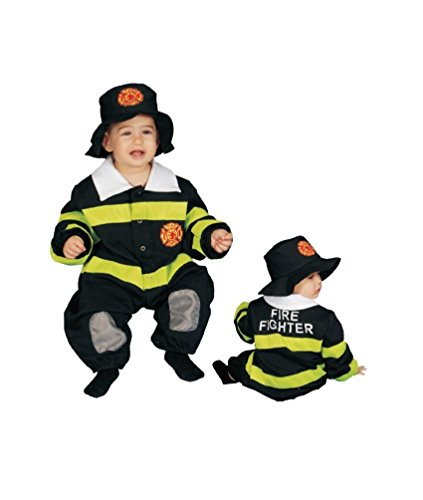 Baby Fire Fighter Bunting Infant Costume - Bunting