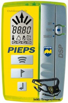 Pieps DSP Avalanche Transceiver (Avalanche Rescue Beacon)