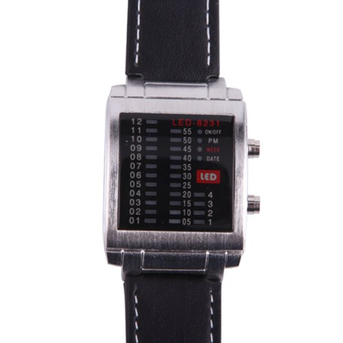 HDE Equalizer Display Fashion Leather