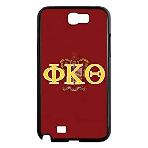 Samsung Galaxy N2 7100 Cell Phone Case Black Phi Kappa Theta Greek Letters B8U7ED