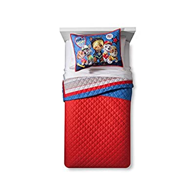 Paw Patrol Twin/Full Quilt and Sham: Home & Kitchen