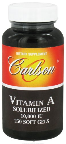 Carlson Labs Vitamin A Soluble, 10000 IU