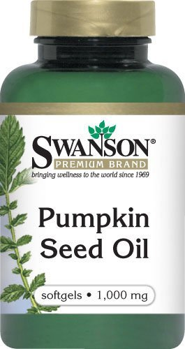Swanson Pumpkin Seed Oil 1,000 mg 100 Sgels 2 Pack
