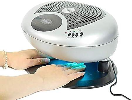 Wttfc Ventilador de secador de uñas Viento Caliente y frío UV Tres ...