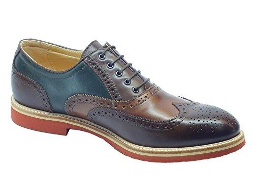 Chaussures Legno Castagno P800191u Nero de Legno à Lacets Bottiglia Ville Bottiglia Homme Pour Batis Giardini Castagno YnBxaOB