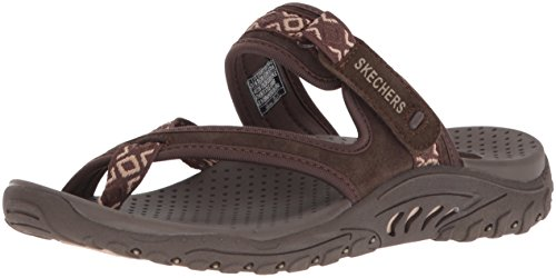 cheap sale latest collections Skechers Women's Reggae-Trailway Flip-Flop Chocolate outlet fashionable clearance cheap price cheap sale wiki get to buy aTiyezz9vK