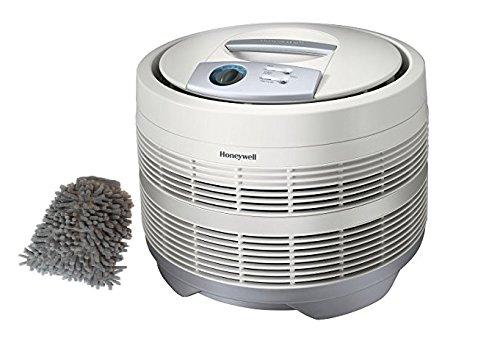 50150-N Honeywell Pure HEPA Air Purifier Round, 225 Sq. Ft (Superb Set) w/ Bonus: Premium Microfiber Cleaner Bundle