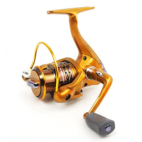 [Clearance Sale] FyshFlyer Summit Professional Performance Spinning Reel; Aluminum Spool/ Front Drag/ 7+1 Bearings for Freshwater (Professional Spinning Reel)