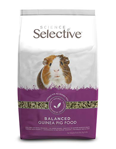 Supreme Science Selective Guinea Pig Food 4lbs ()