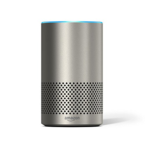 l (fits Echo 2nd Generation only) - Silver Finish (Decorative Shell)