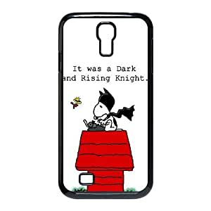 Samsung Galaxy S4 9500 Cell Phone Case Black Snoopy qpfk
