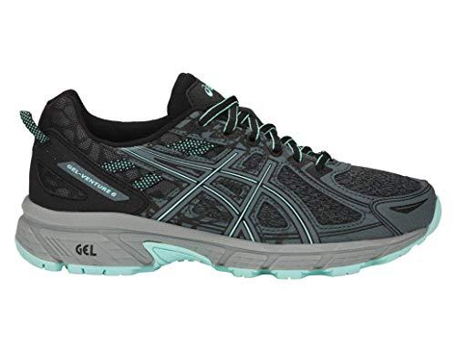 ASICS Gel-Venture 6 MX Women's Running Shoe, Steel Grey/ICY Morning, 9.5 M US