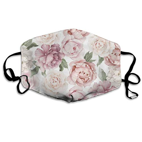 NOT Floral Flower Personality Lovely Unisex Dust Mask, Suitable for Young Men and Women, Ski Bike Camping Windproof Motorcycle Face Mask