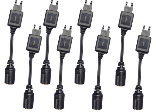 Ericsson S710a Cellular Phone - 8 Packs^^New interchangeable connector for Sony Ericsson T28 Series(it allows you using with our car charger and USB charger to charge your Sony Ericsson** cell phone by simply plugging it on the top of the Nokia** base plug of the charger.)