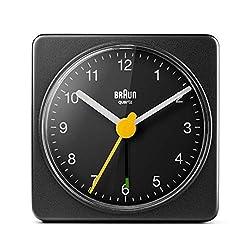 Braun BC02B Travel Alarm Clock Black