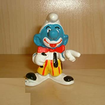 20033 Clown Smurf By Schleich From The Smurfs Vintage Rare Item