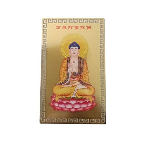 Buddha Card - FengShuiGe Feng Shui Buddha Good Luck/Amulet Card For Protection - Amitabha Buddha