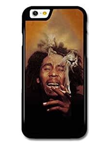 Wholesale diy case Accessories Bob Marley Smoking & Laughing Rasta Portrait Reggae case for iPhone 6