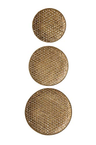 (Creative Co-Op Round Bamboo Baskets (Set of 3 Sizes))
