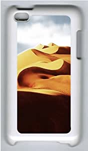 iPod 4 Case Cover,Magical Desert Hard Case Cover for Apple iPod 4/ ipod 4th Generation PC Plastic White