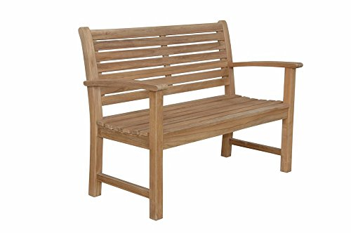 Anderson Teak Victoria 2-Seater Bench without Cushion, (2 Seater Bench Cushion)