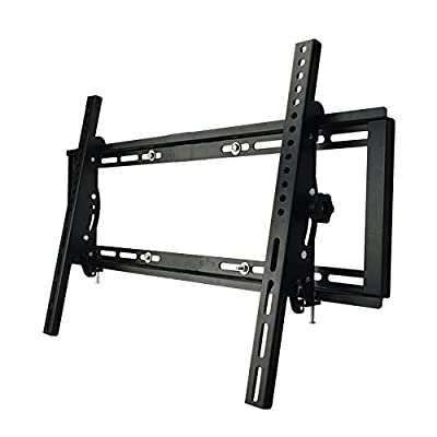 Sunydeal Tilt TV Wall Mount Bracket for Most 22 - 65 inch Vizio Samsung Sony LG TCL Sharp AQUOS LCD LED Plasma TV, VESA 200x200 300x300 400x400 600x400mm, Max Weight to 115lbs