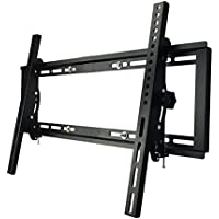 Sunydeal Tilt TV Stud Wall Mount Bracket for Most 30 - 60 inch Vizio Samsung Sony LG TCL Sharp AQUOS LCD LED Plasma TV, VESA 200x200 300x300 400x400 600x400mm, Max Weight to 115lbs