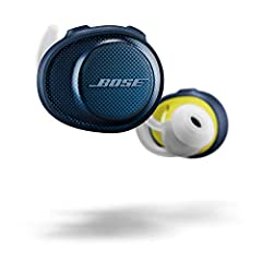 No wires mean no limits. And Bose SoundSport free headphones are completely wireless, so you can enjoy total freedom of movement with nothing-not even a single cord-in your way. The acoustic package is designed to deliver sound so clear and p...