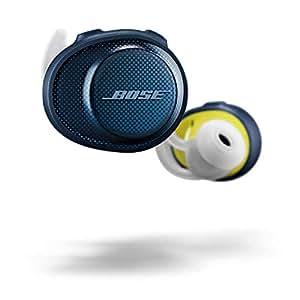 Bose SoundSport Free Truly Wireless Bluetooth Headphones, Blue/Citron