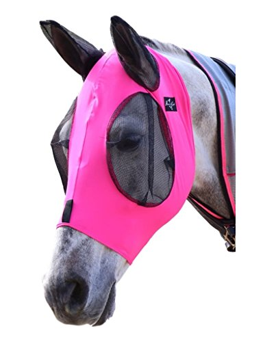 Professional`S Choice Comfort Fit Fly Mask Pink COB ()