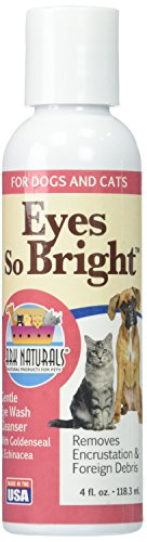 Ark Naturals 700179 Eyes So Bright for Dogs & Cats, 4-Ounce Bottle