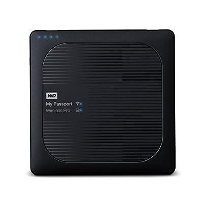 WD 1TB My Passport Wireless Pro Portable External Hard Drive