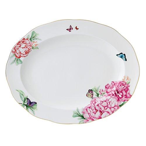 Royal Doulton Miranda Kerr Medium Oval Platter, 13-Inch, White (China Royal Albert Platter Bone)