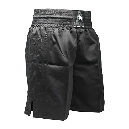 (Anthem Athletics Classic Boxing Trunks Shorts - Black - XXX-Large )