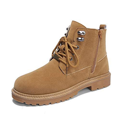 LOVDRAM Stiefel Männer Winter Männer Casual Martin Stiefel Mode Hohe Schuhe Verdicken Baumwolle Schuhe Warme Retro Werkzeug