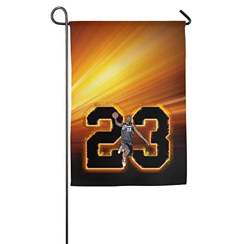 Duola King Swingman #23 Decorative Garden Flag Pub Banner 12*18inch