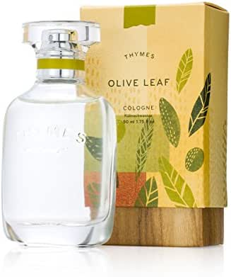 Thymes - Olive Leaf Cologne - Fresh Fragrance for Men & Women - 1.75 oz