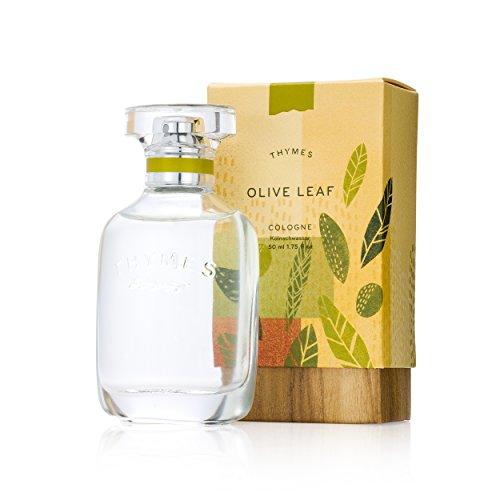 Thymes - Olive Leaf Cologne - Fresh Fragrance for Men & Women - 1.75 oz
