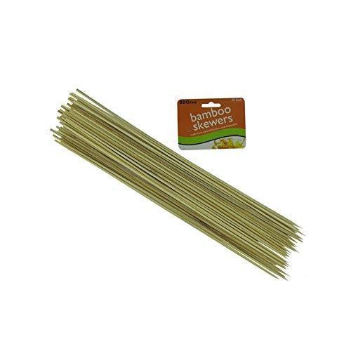 Bar-B-Q Time Kole Imports HB207 Long Bamboo Skewers from Bar-B-Q Time