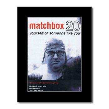 Matchbox Twenty - Yourself or Someone Like You Mini Poster