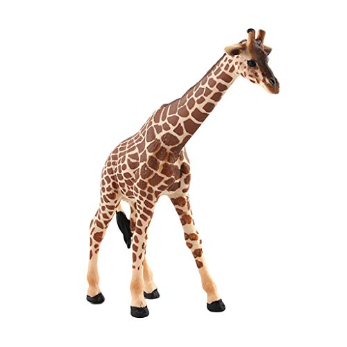 AMOFINY Baby Toys Simulation of Wild Big, Medium, Small Giraffe Family of Three Educational Simulated Giraffe Model Kids Children Toy Giraffe Gift