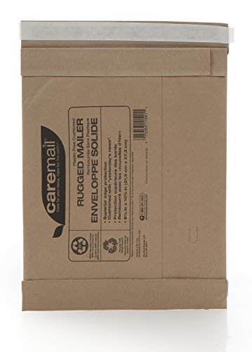 UPC 075353115411, Duck CareMail Brand Recycled Self-Seal Rugged #2 Mailer, Brown Kraft, 8.5 x 10.75 Inches (1092725)